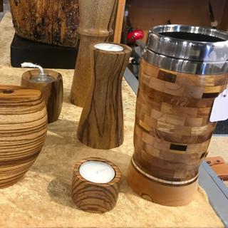 woodturned bowls