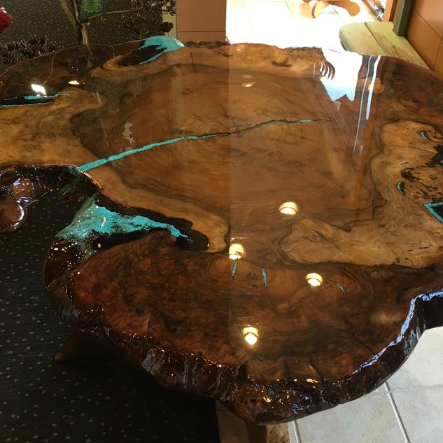 Black Walnut Table by Earl Bolkan