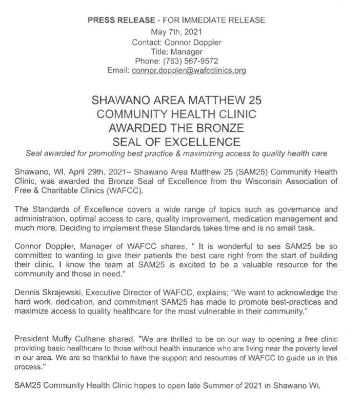 WAFCC Bronze Seal Press Release.jpg