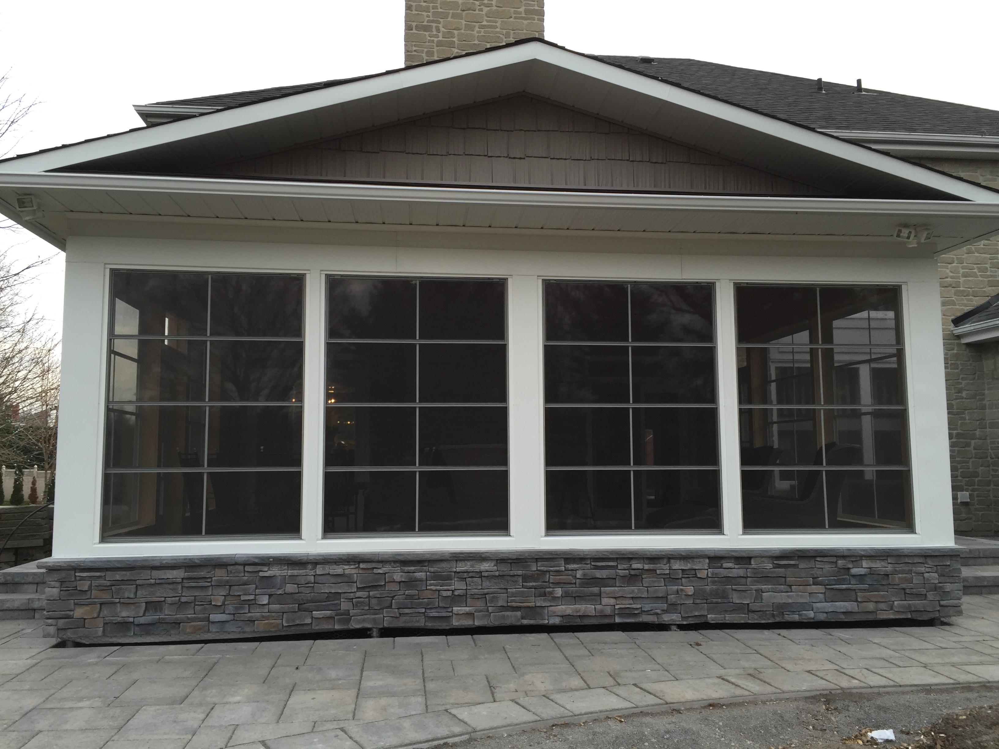 Sunroom- exterior finished 1