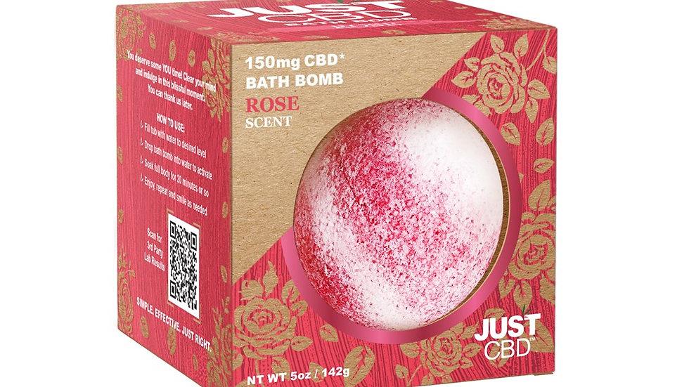 Rose Scent Bath Bomb