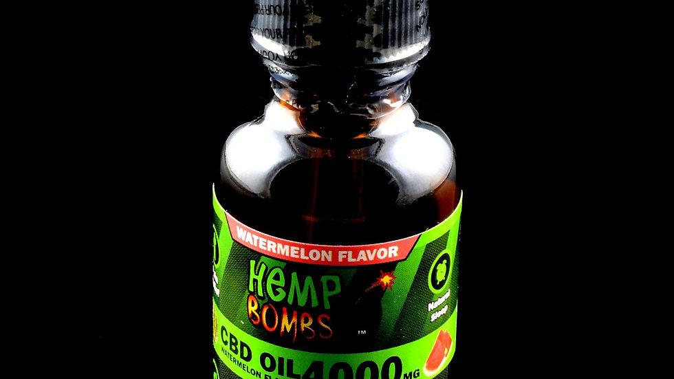 Hemp Bombs - Tinctures Watermelon