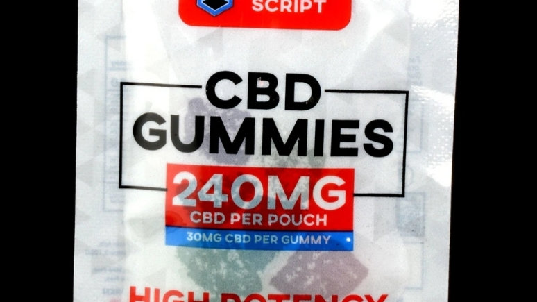 8 Count HIGH POTENCY CBD Gummies