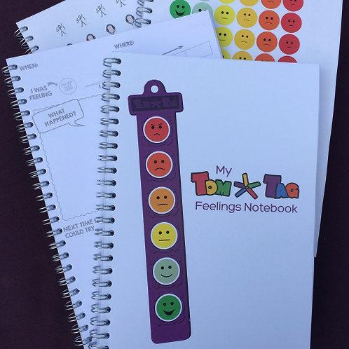 My TomTag Feelings Notebook