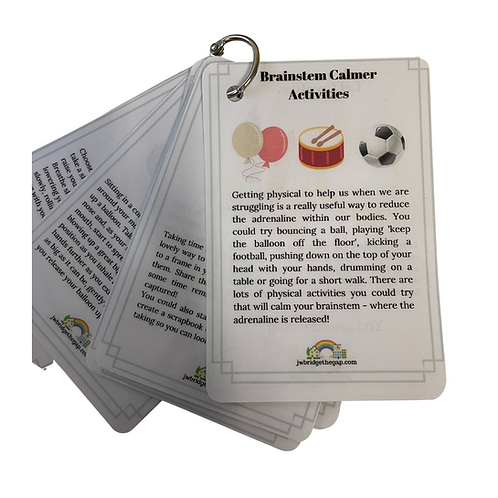 Laminated Breathing and Strategy Cards