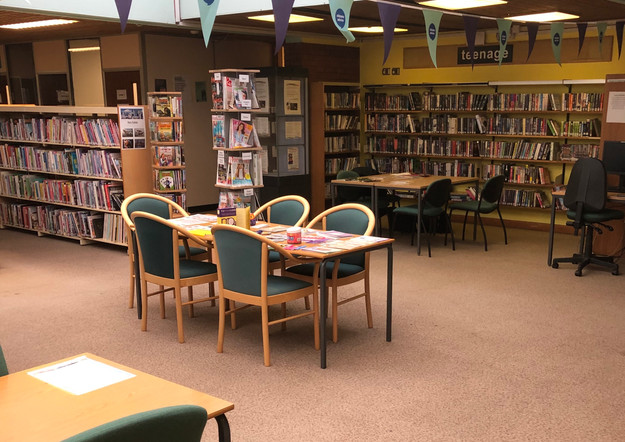 Free drop in session at Sinfin Community Library