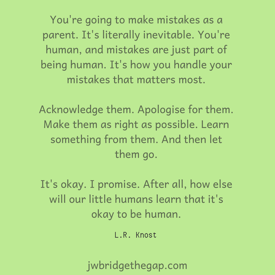 Mistakes Are Not Failure