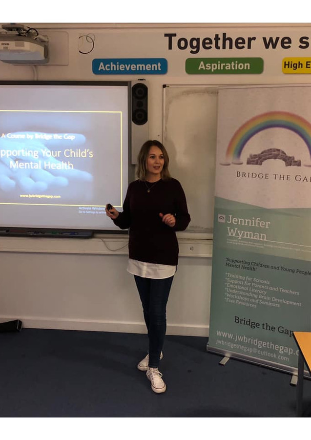 Jennifer Wyman. Derby. Teen and Child Mental Health Support.