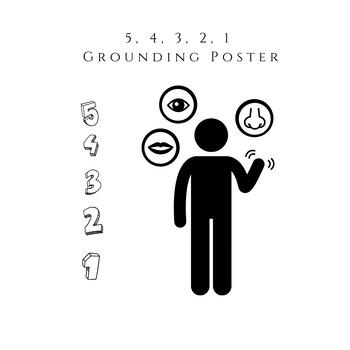 5, 4, 3, 2, 1 Grounding Poster