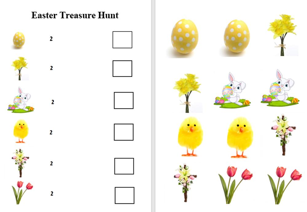 Easter Treasure Hunt FREE Download
