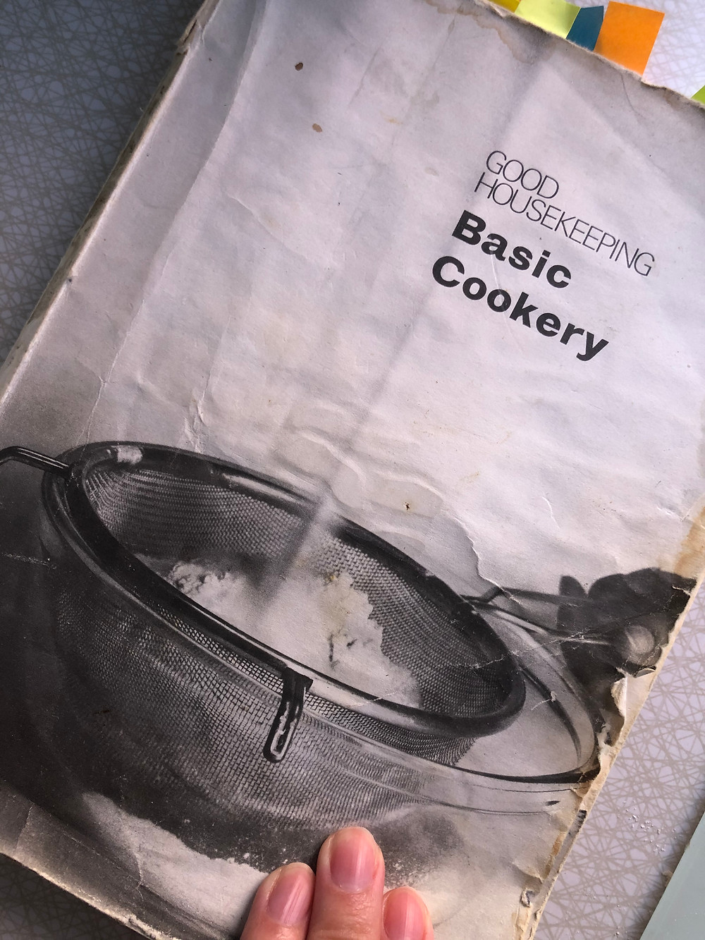 Well loved and well used, the recipe my mum used when I was little.