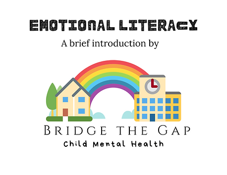 Emotional Literacy - Free book download for parents - child mental health