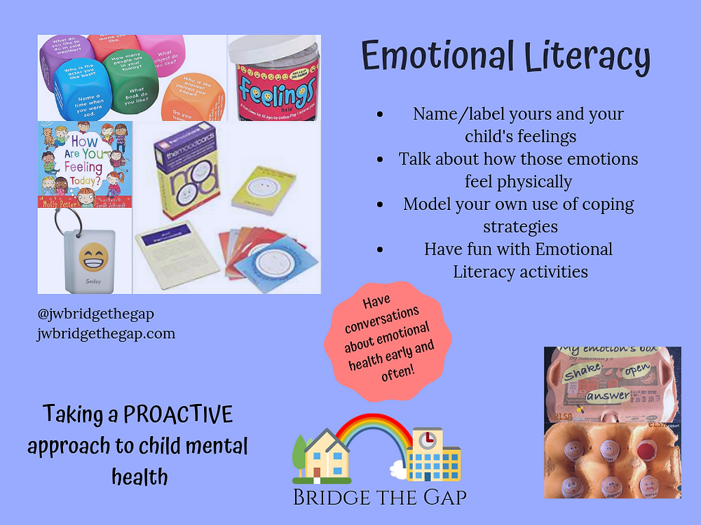 Introducing Emotional Literacy into the home and classroom.