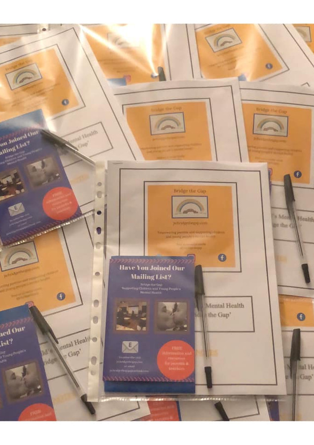 Week 1 course notes ready. Supporting your child's mental health and emotional well-being. Littleover, Derby.