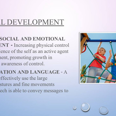 Child Mental Health - Physical Development