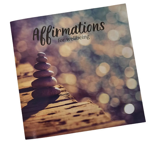 Affirmations for Wellbeing Book