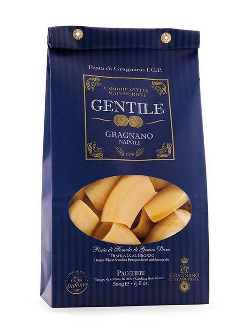Paccheri lisci Pasta di Gragnano Gentile