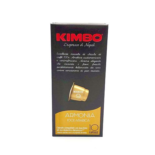 Capsule Caffe Armonia Kimbo compatible con Nepresso®