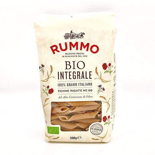 Penne  rigate n.66 Bio integral Pasta Rummo
