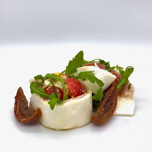 Rotolo di mozzarella - Rollito de mozzarella artesano