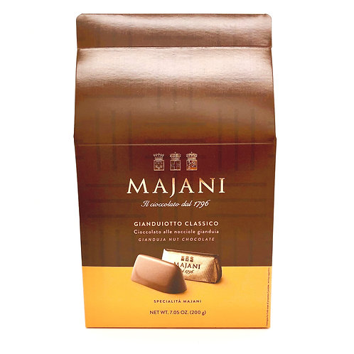 Gianduiotto classico Majani 200 gr - chocolate