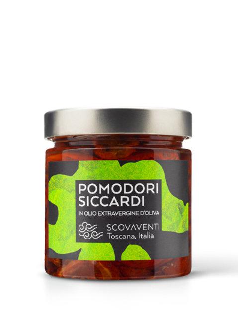 Pomodori siccardi - tomate seco en aceite EVO conserva Italiana