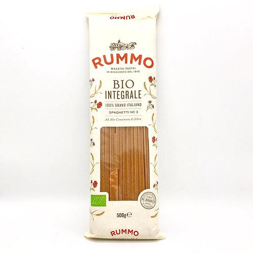 Spaghetti n.3 Bio integral Pasta Rummo