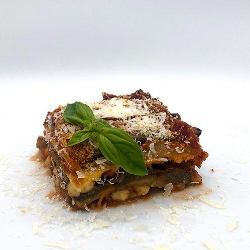 Parmigiana di melanzane - Parmesana de berenjena artesana
