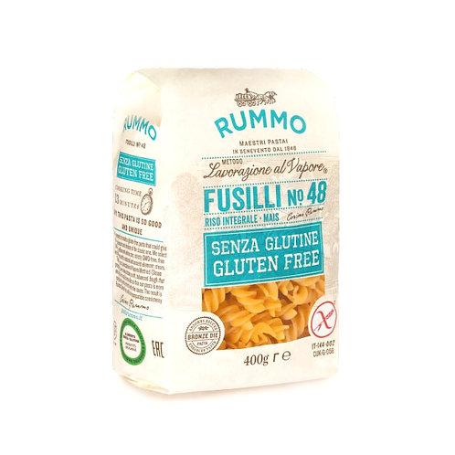 Fusilli n.48 sin gluten Pasta Rummo