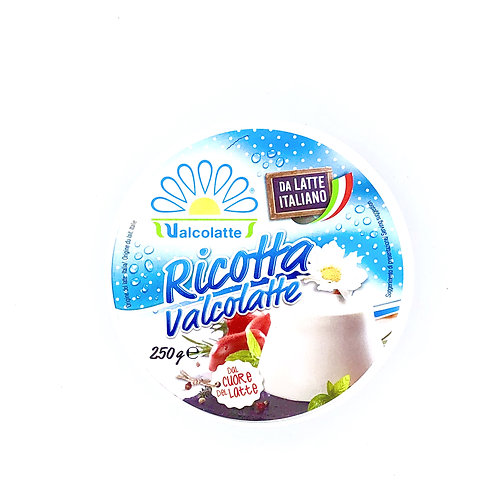 Ricotta fresca Valcolatte - requeson italiano