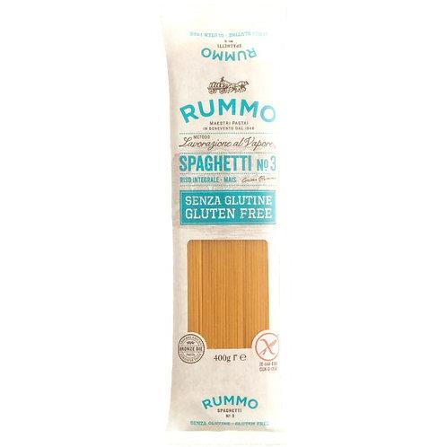 Spaghetti n.3 sin gluten Pasta Rummo