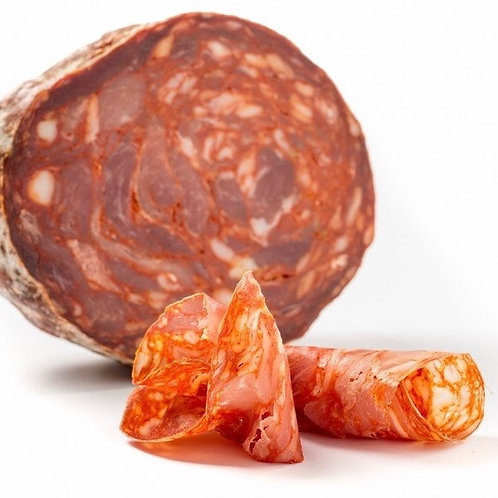 Salame ventricina - salami picante italiano 200 gr aprox.