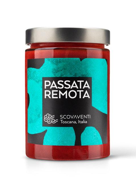Passata remota - tomate triturado variedad tondo Roma 500 gr