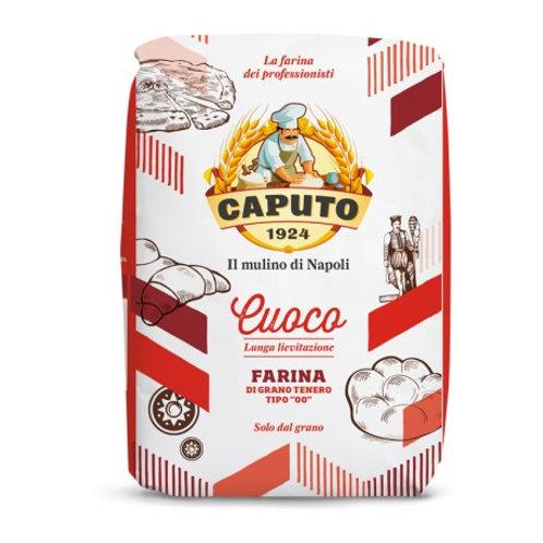Harina Caputo trigo blando tipo 00 para pizza