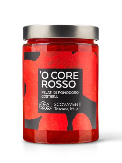 O' core rosso - tomate pelado de Costiera Italiana