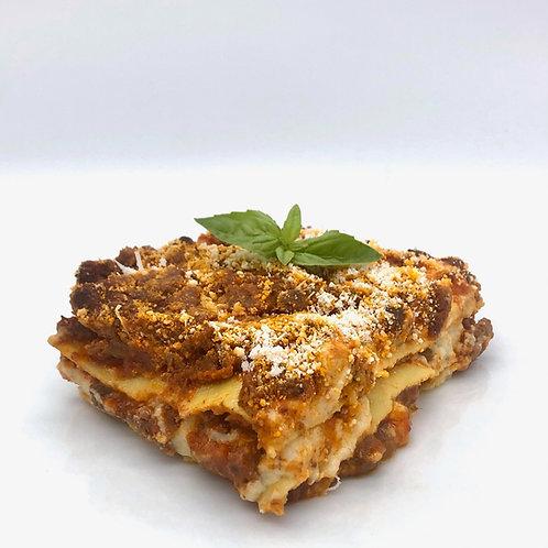 Lasagna di carne - Lasaña de carne artesana