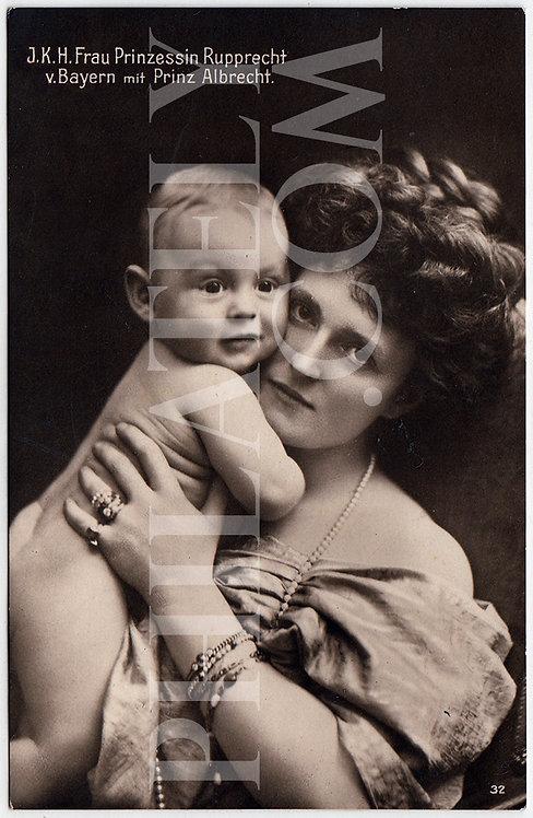 German Empire (Deutsches Reich) Military Propaganda Postcard- Duchess Marie