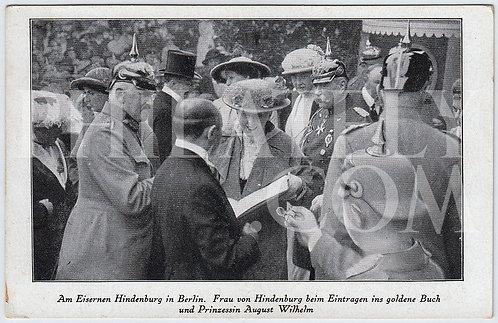 German Empire (Deutsches Reich) Military Propaganda Postcard- Princess Alexandra