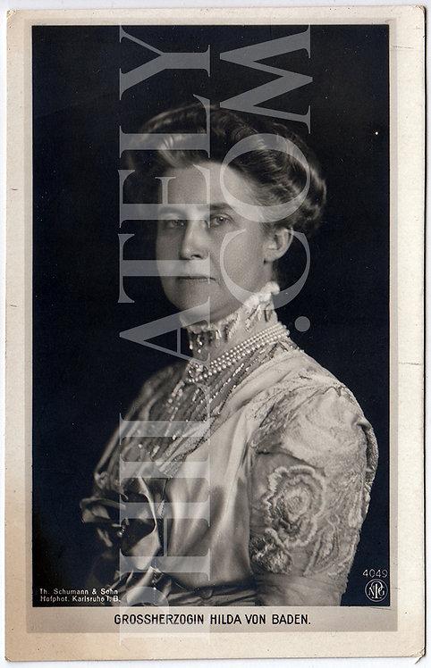German Empire (Deutsches Reich) Military Propaganda Postcard- Princess Hilda