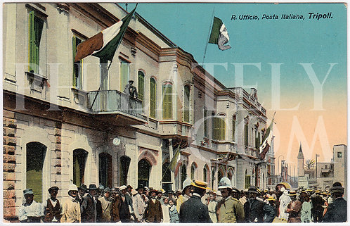 Italo-Turkish (Tripolitanian / Libyan) War Military Propaganda Postcard
