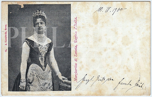 Queen Conosort of the Kingdom of Italy- Margherita of Savoy