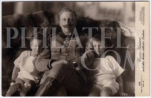 German Empire (Deutsches Reich) Military Propaganda Postcard- Kaiser Wiilhelm II