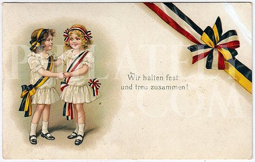 German Empire (Deutsches Reich) Military Propaganda Postcard
