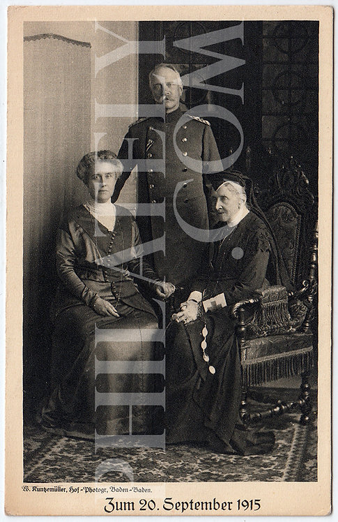 German Empire (Deutsches Reich) Military Propaganda Postcard- Frederick II