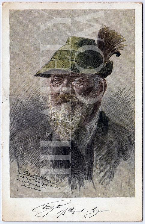German Empire (Deutsches Reich) Military Propaganda Postcard- Luitpold
