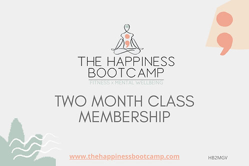 TWO MONTH CLASS MEMBERSHIP