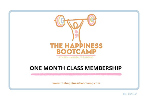 ONE MONTH CLASS MEMBERSHIP
