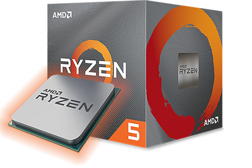 AMD Ryzen 5 3600 4.25Ghz Desktop PC