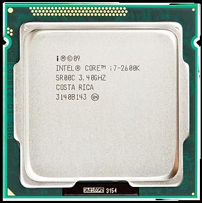 Intel Core i7-2600k 3.40Ghz
