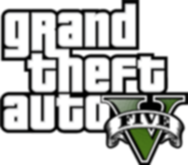 Grand Theft Auto V review logo